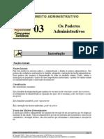 Os Poderes Administrativos