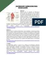 La Musculación y Aparatos de Musculación