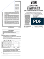 General Installation Manual