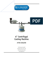 6 Inch Centrifugal Casting Machine Is