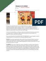 Como Mejorar Tu Bloqueo en El Voleibol
