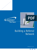 Build a Referral Network