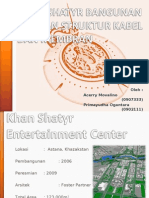 Khan Shatyr Bangunan Dengan Struktur Kabel Dan Membran