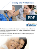 Tips for Reducing the Winter Blues in Seniors