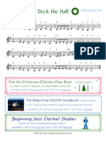Deck the Hall Clarinet
