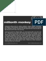 Brochure - Millionth Monkey, Inc.