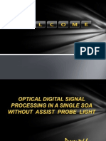 Optical Digital Signal Processing ppt
