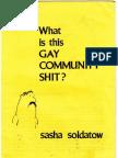 Sasha's Pamphlet