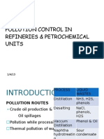 POLLUTION CONTROL IN REFINERIES