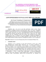 Low Power Design of Wallance Tree Multiplier