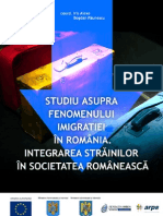 Studiu asupra fenomenului migratiei in romania