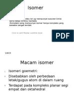 Isomer Ainin Geometri
