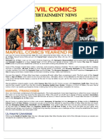 Marvel Comics Year-End Review 2012