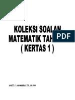Koleksi Soalan m3 y3 p1