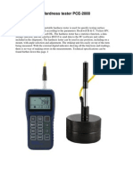 PCE-2000 Hardness Tester