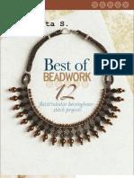 Best of Beadwork~12 Flat and Tubular Herringbone Stitch Projects