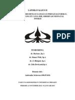 COVER CASE II Neonatus Andro