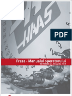 Manualul operatorului  CNC Haas (freza) -2012