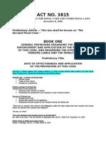 Revised Penal Code (Art. 1-113)