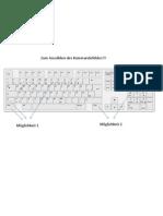 Keyboard for German