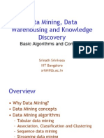 Data Mining, Data Warehousing and Knowledge Discovery