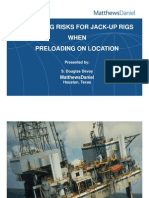 Rig move risk assessment