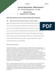 MB0045 Financial Management Sem 2 Aug Fall 2011 Assignment