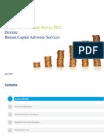 Compensation Trends Survey 2012