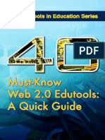 40 Must-know Web 2.0 Edutools