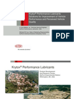 Performance lubricants