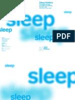 Avoiding sleep