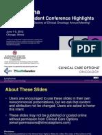 CCO Clin Onc June 2012 Lymphoma CME Slides