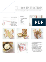 Cupcake Box Template and Instructions
