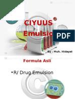 formula emulsi