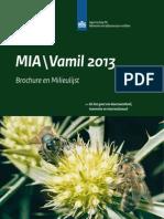 BrochureMilieulijst 2013