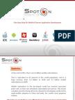 SpotOn Software-Introduction Presentation