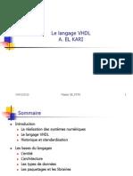 Le Langage VHDL