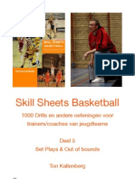 Skill Sheets Basketball Deel 5