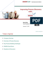 Improving Process Discovery With RAVEN Cloud