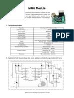 Gas Leak Alarm Module
