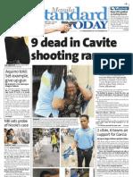 Manila Standard Today -- Saturday (January 05, 2013) issue