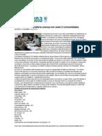 Tribuna de Petrópolis - Regularização avança em mais duas comunidades - 03-12-12