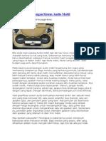 Cara Jitu Pemasangan Sistem Audio Mobil