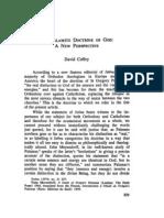The Palamite Doctrine of God