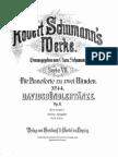 Schumann - Davidsbündlertänze, Ausgabe I