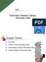 4 Exploratory Research Design-secondary Data