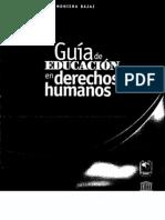 Guía de educación en derechos humanos-Bajaj