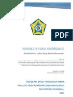 Makalah Kimia Anorganik (Chairul Ichsan)2013