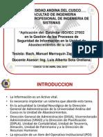 """""""Aplicacion del Estandar iso 27002 en la UABAS_UAC"""""""