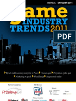 Raport Game Industry Trends 2011